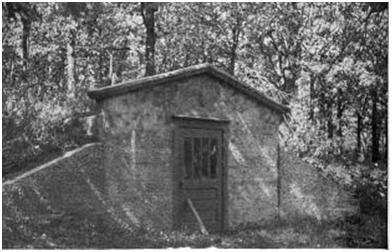 The outside cellar built into a bank or partly underground is only a development of the old system of burying potatoes cabbages and so forth ... & A Concrete Root Cellar | Surviving The Times